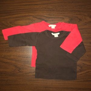 Baby boy or girl 2 t-shirts - 6 to 9m - Lot 9